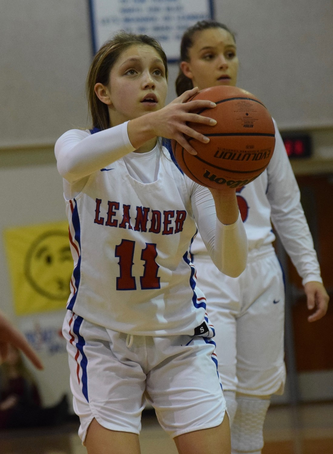 Kassadie Sanders and Leander lost to Lake Travis 40-26 on Tuesday night.