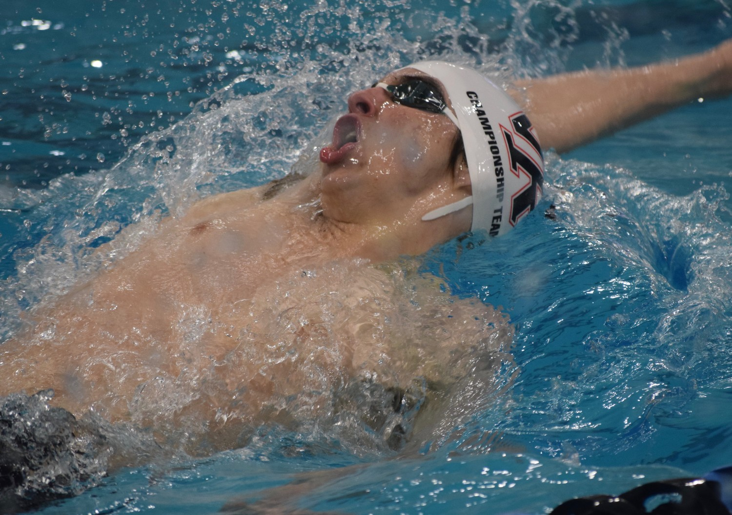 Vista Ridge senior Ethan Gogulski qualified for the consolation finals in the 100-yard backstroke Friday night, finishing in 10th place with a time of 51.01.