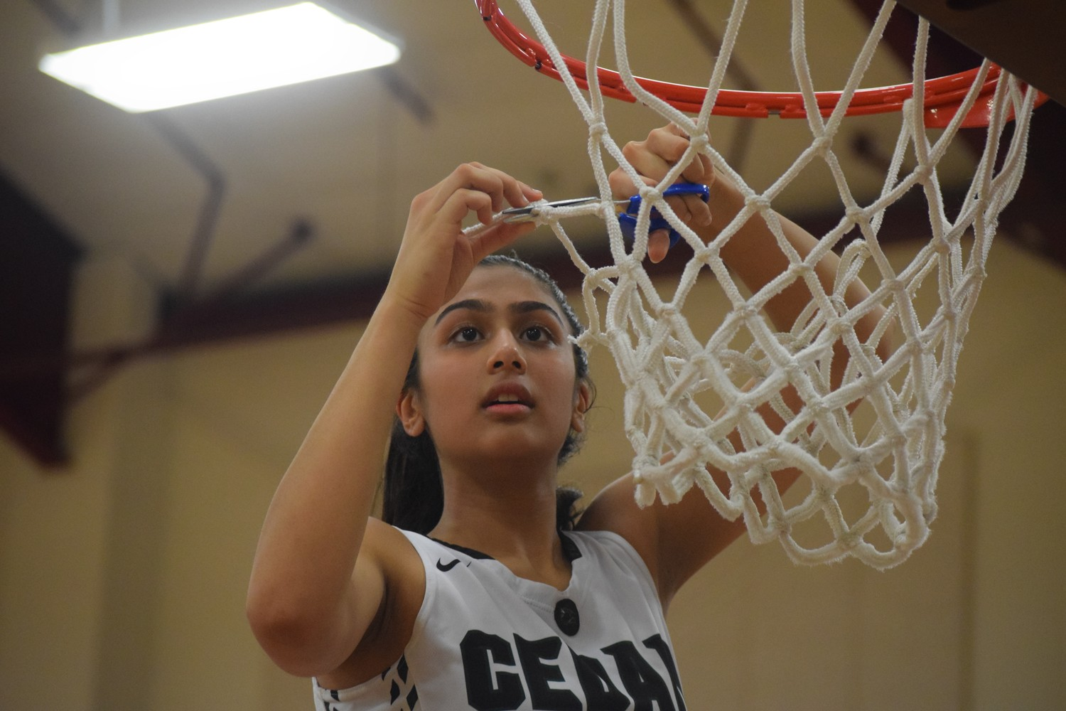 Pujita Shukla and Cedar Park made it to the regional semifinals for the first time in school history and pushed their winning streak to 16 games on Tuesday night with a 58-31 win against Magnolia West 58-31 at Flatonia High School.