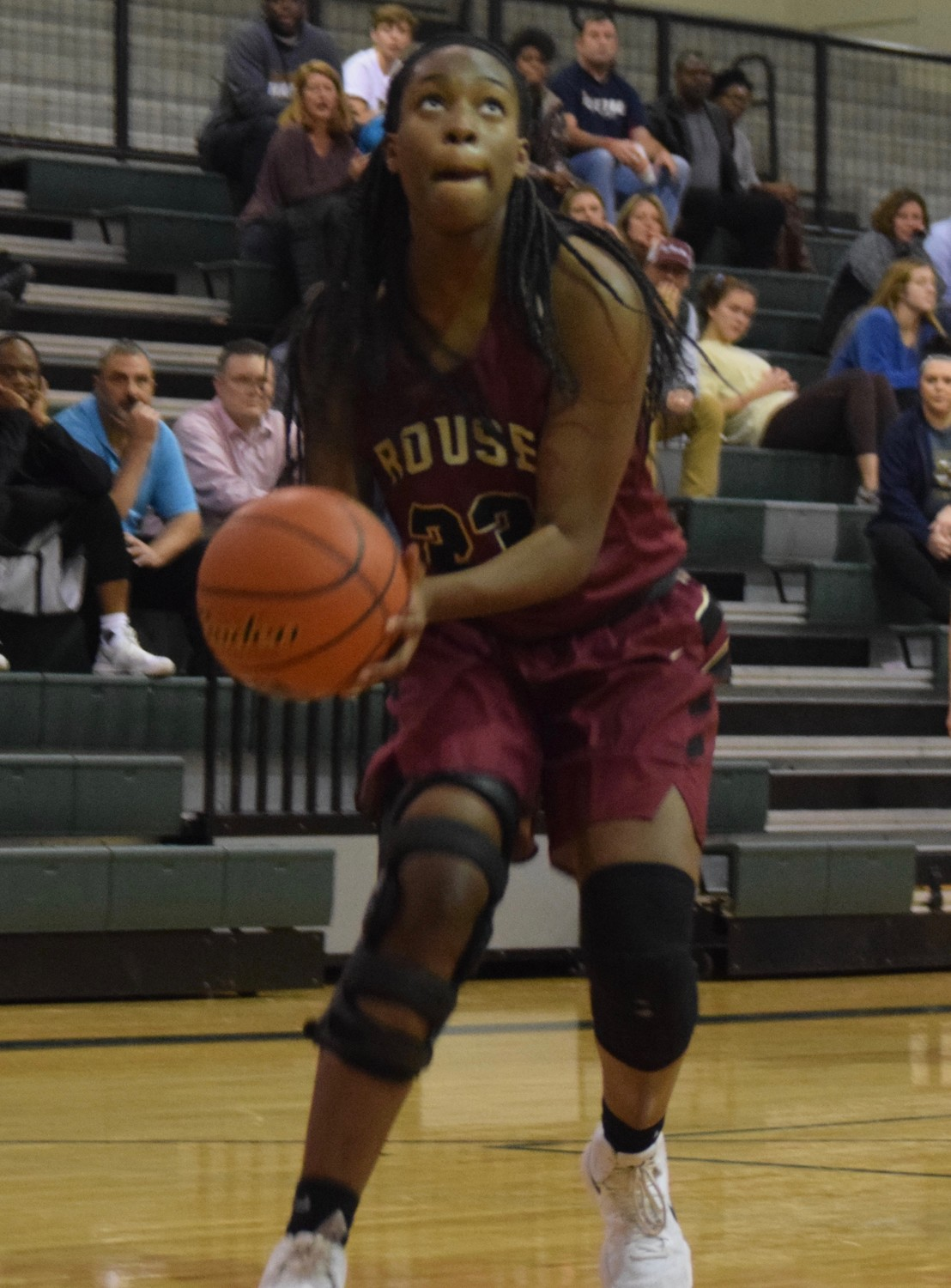 Rouse senior Ashley Onyango was the District 19-5A co-Offensive MVP.