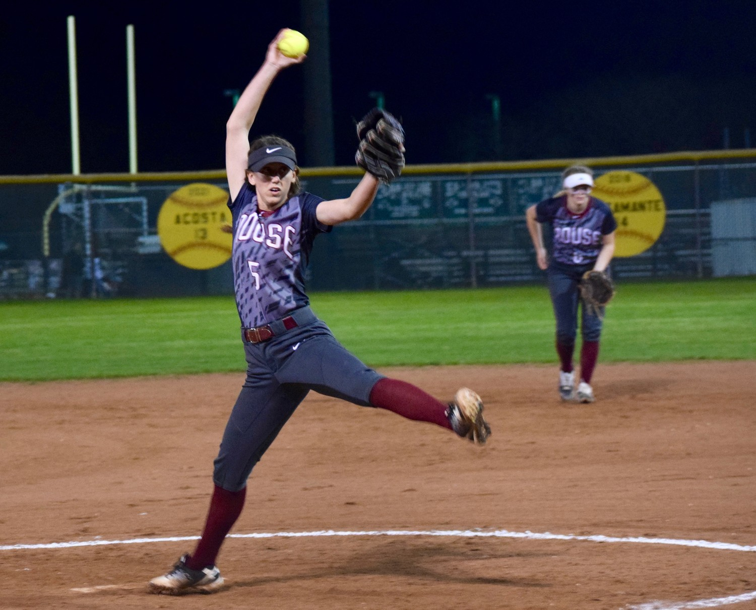 Maggie Edwards allowed nine runs and six hits in 5.2 innings but Rouse lost to Cedar Park 9-6 on Friday night.