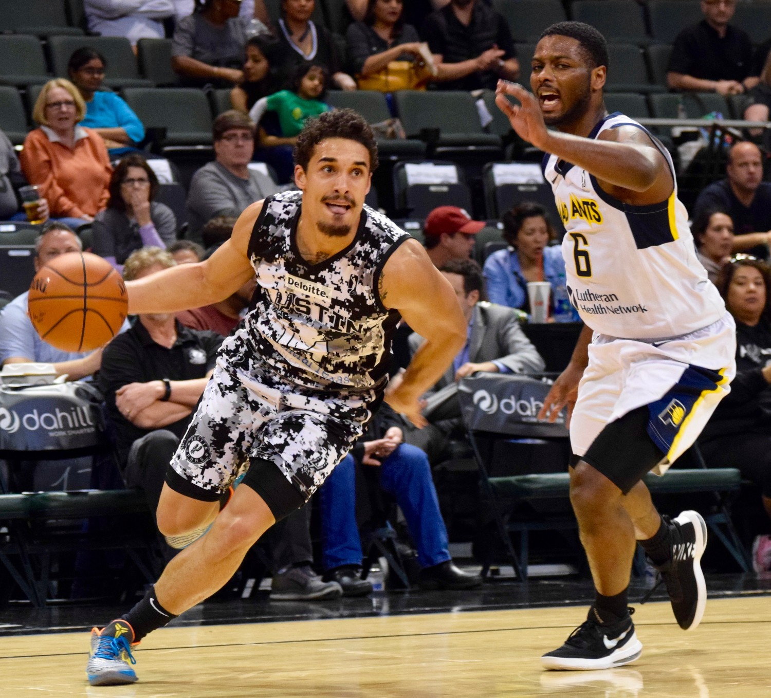 Nick Johnson and the Austin Spurs lead the G-League Southwest Divison and the Western Conference and have the second-best record in the league.