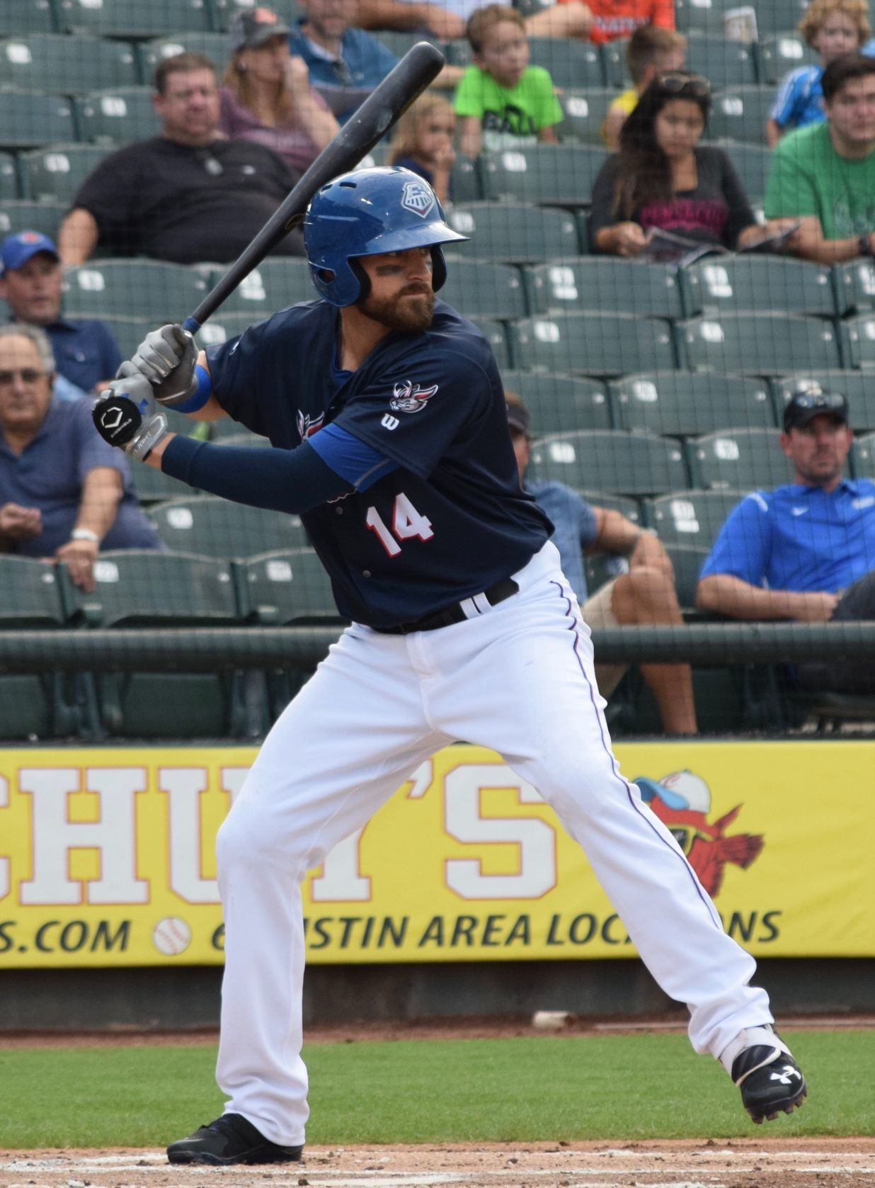 Will Middlebrooks hit a home run for the second straight game and the Round Rock Express beat the New Orleans Baby Cakes 6-3 in seven innings Friday night.