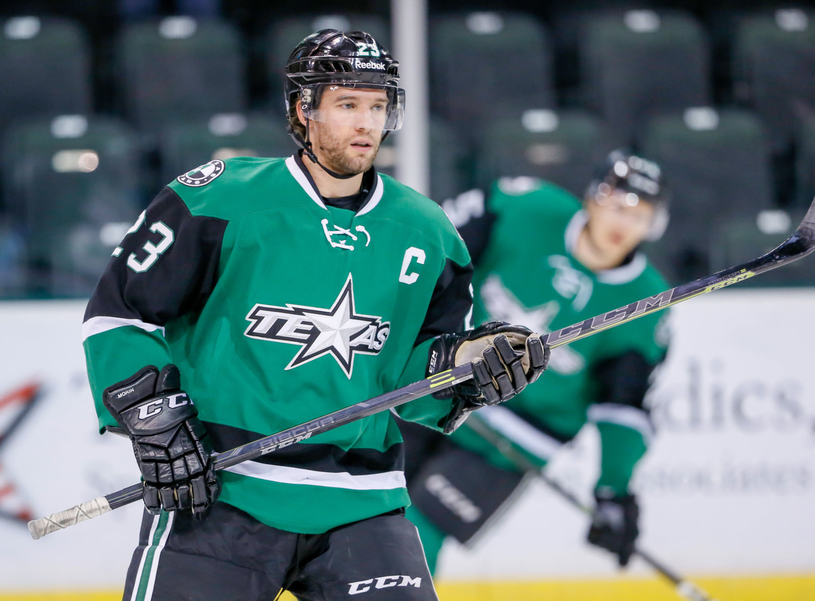Stars captain Travis Morin will return for his ninth season with the team. He is the only player to play every season with the Stars since they moved to Cedar Park in 2009.