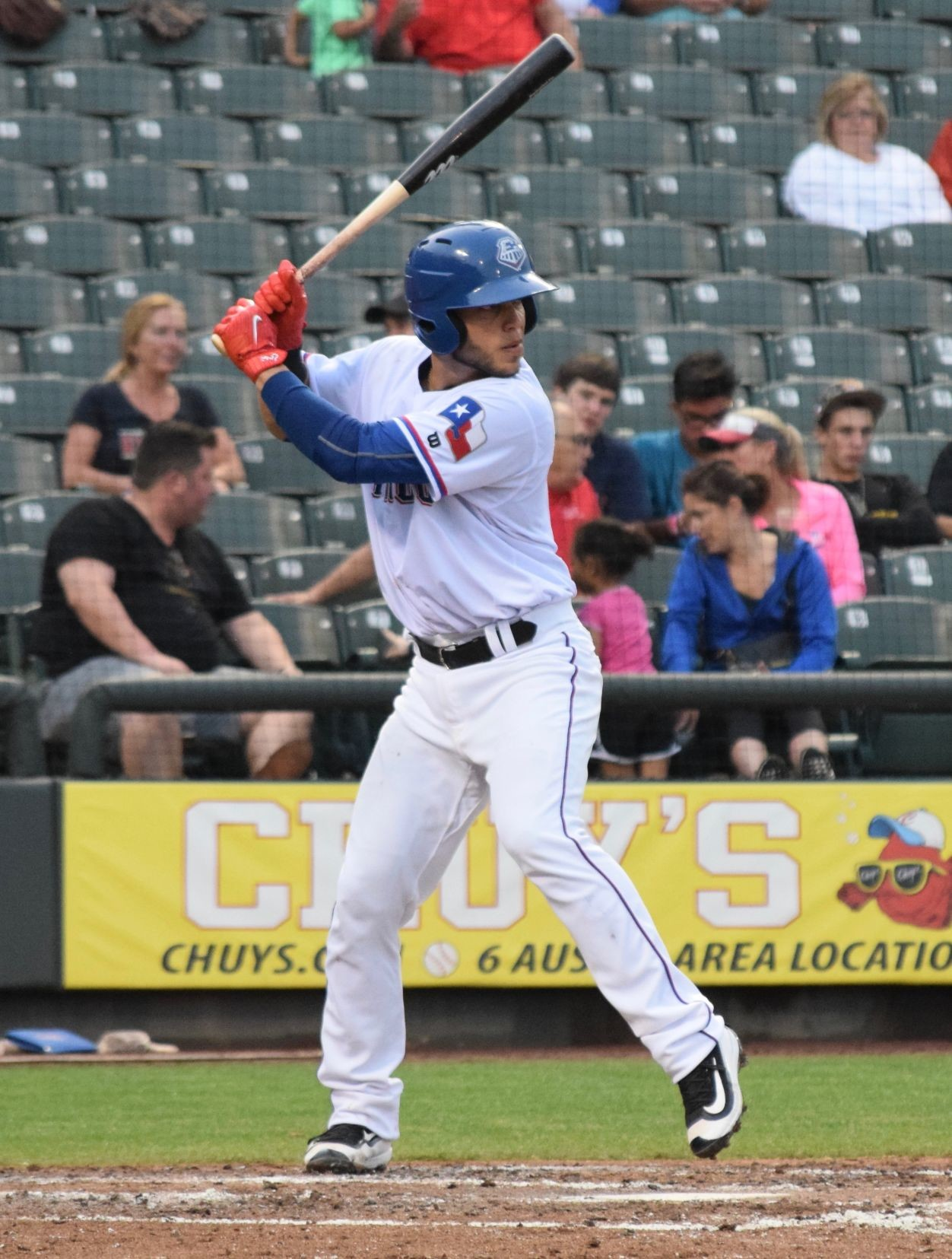 A.J. Jimenez hit his first home run of the season in Round Rock's 5-3 loss to New Orleans on Wednesday afternoon. The Express have homered in nine straight games and have 18 dingers in that span.