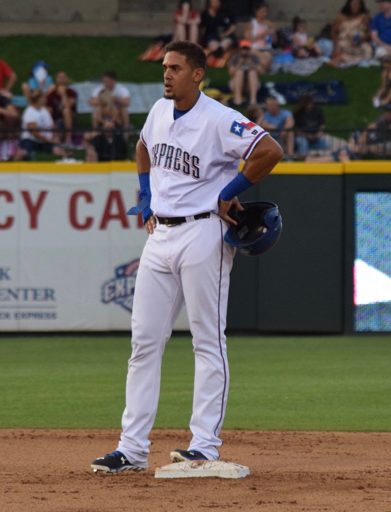 Ronald Guzman has two hits and one RBI as the Round Rock Express lost to the Memphis Redbirds 8-3 in the series finale Tuesday night at Dell Diamond.