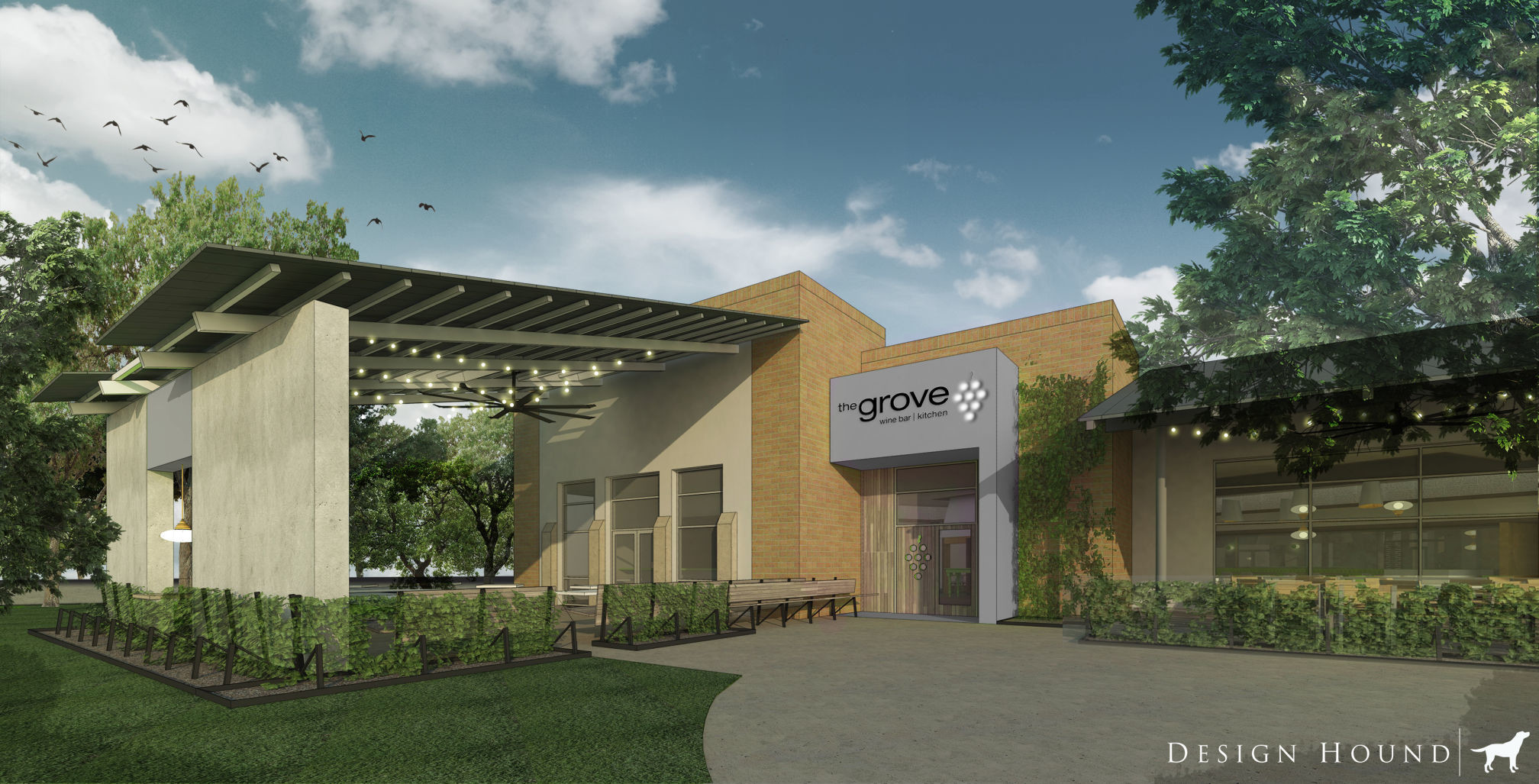 Grove Wine Bar & Kitchen opens in Cedar Park next month | Hill ...