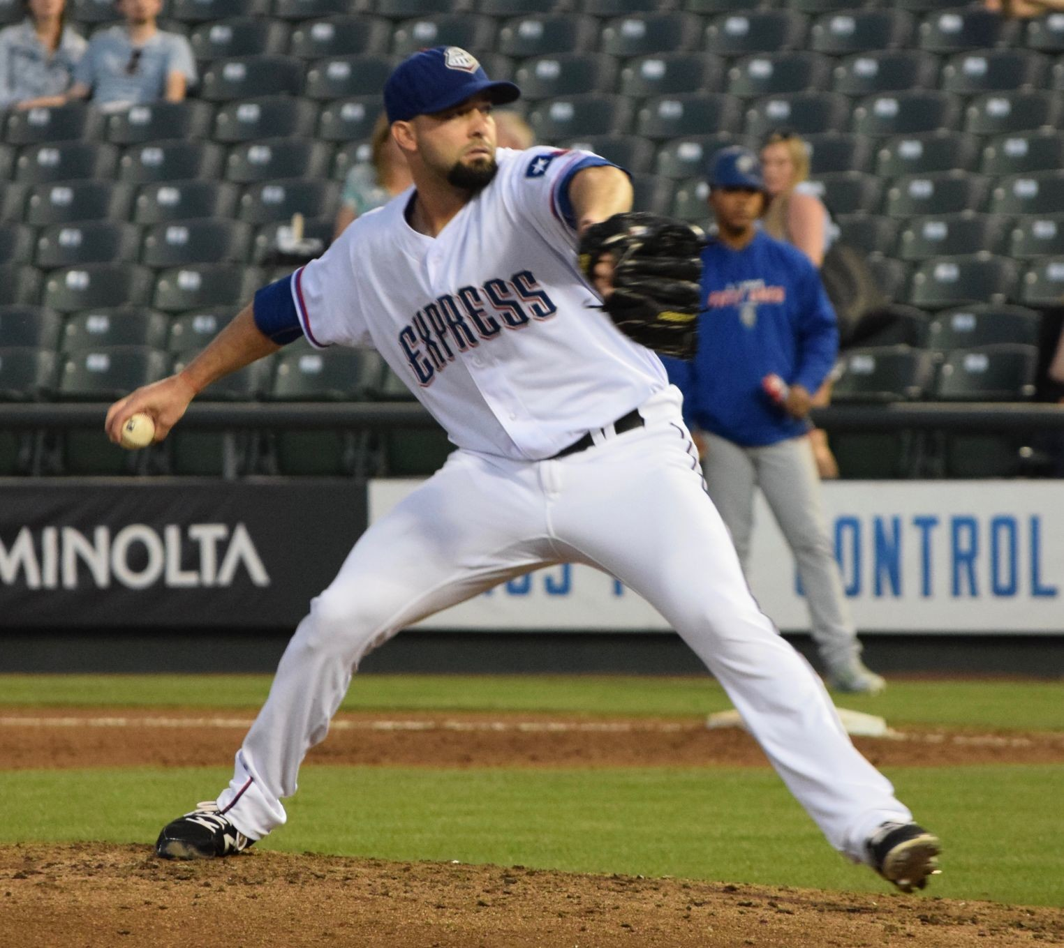 Dillon Gee pitched six scoreless innings against his former team, allowing no runs on two hits with nine strikeouts and the Express beat the Las Vegas 51s 3-1 Wednesday night at Dell Diamond.