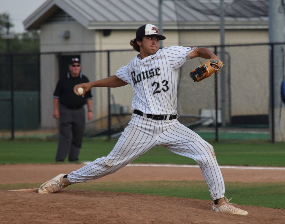 Jared Southard threw 3.2 innings in Rouse's 9-3 loss to Brenham on Friday, allowing two runs on seven hits with three strikeouts.