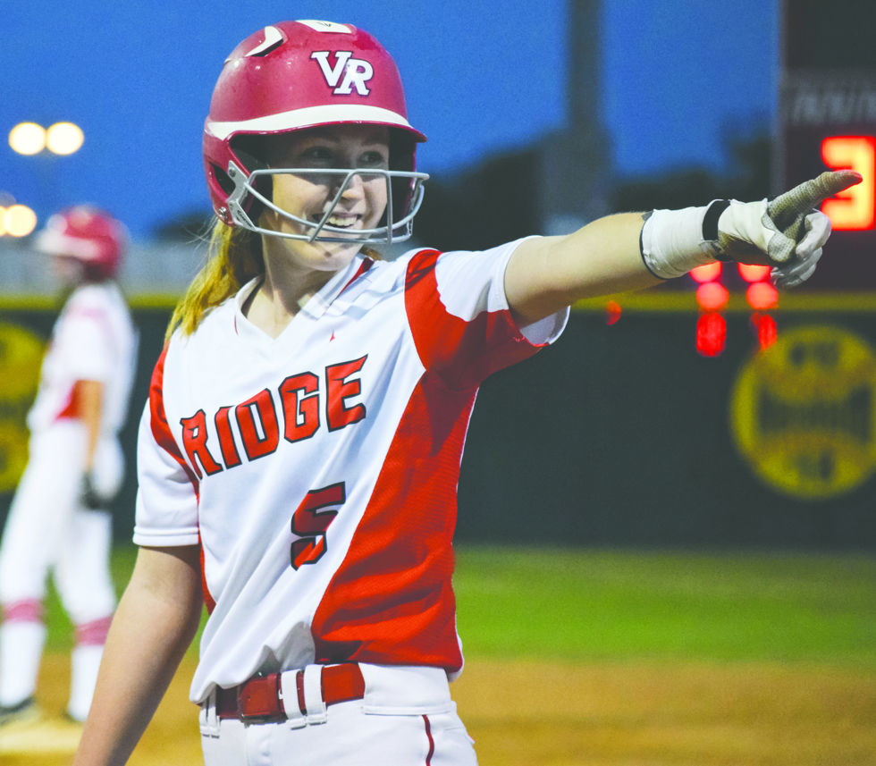 Courtney White and the Lady Rangers scored 11 runs in the final two innings to beat Westlake 11-3 on Friday night and head into the playoffs on a winning note.