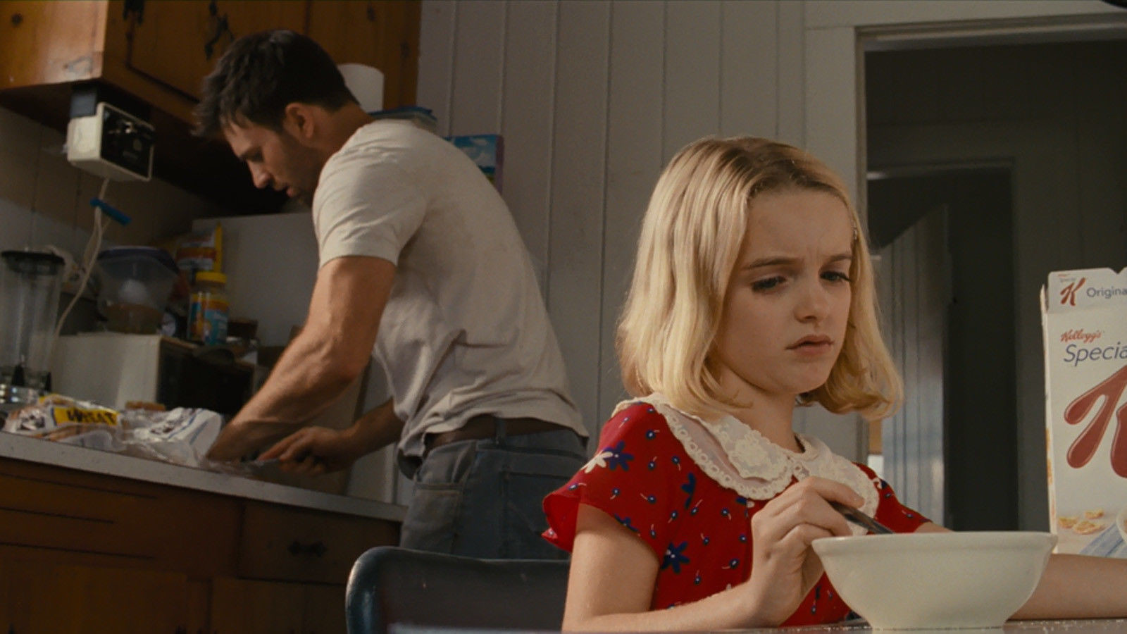 "Chris Evans stars with 10-year-old McKenna Grace in director Marc Webb's ""Gifted,"" in theaters now."