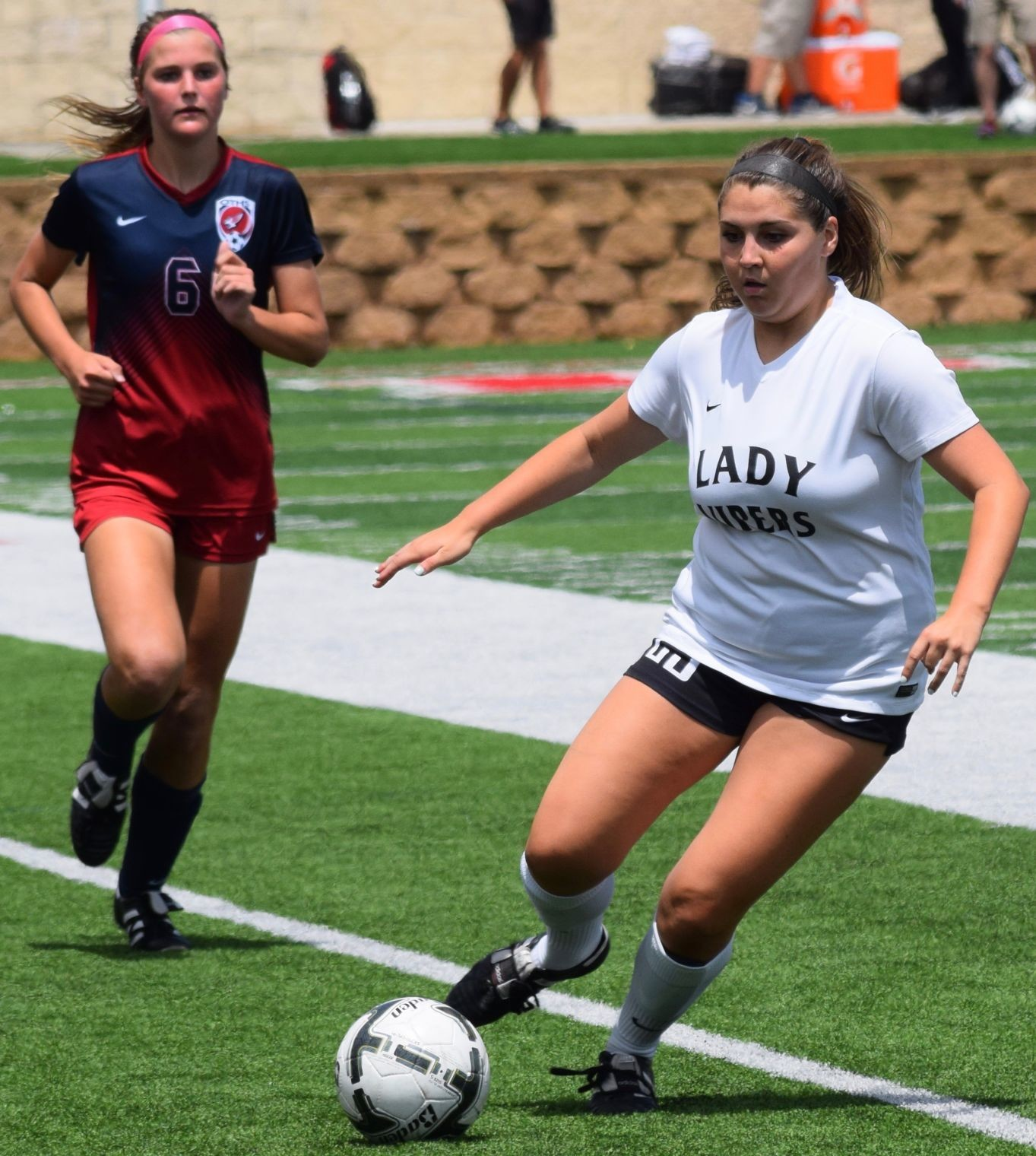 Sarah Mahosky and Vandegrift lost 3-1 to Katy Tompkins Friday afternoon in the state semifinals. It was the Lady Vipers' third trip to the state tournament in the last four seasons.