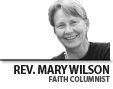 Rev. Mary Wilson is pastor of Church of the Savior in Cedar Park, which is affiliated with The United Church of Christ, American Baptist Churches - USA and The Alliance of Baptists.