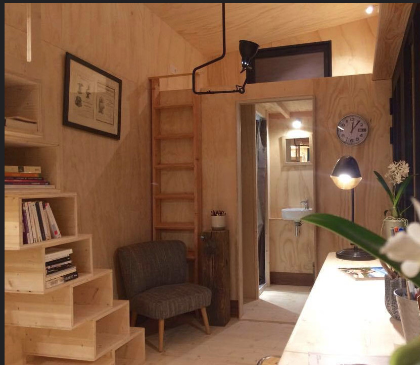 The tiny house movement is an architectural and social movement that advocates living simply in small homes. Although there is no set definition on what size a tiny house should be, Leander defines it as a residential structure under 700 square feet.
