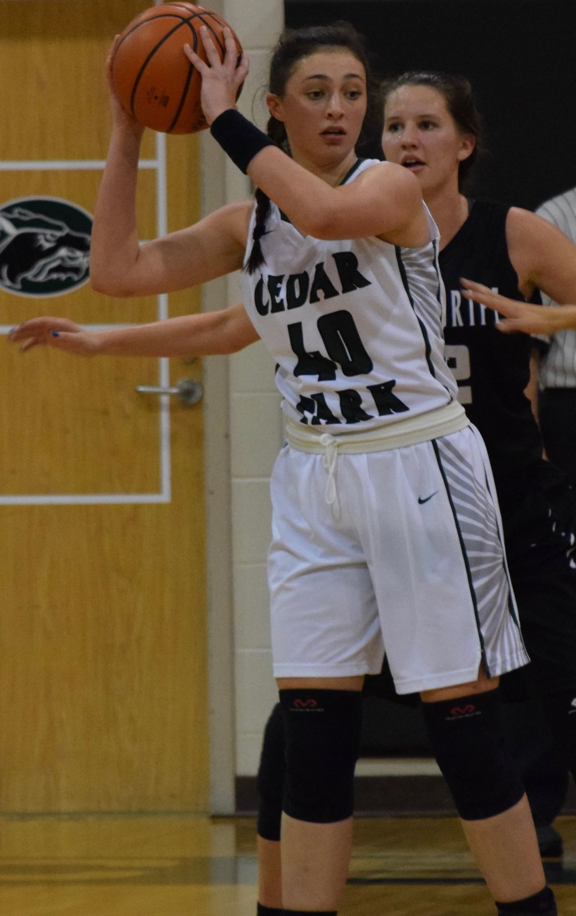 Nicole Leff, a Cedar Park freshman, was co-Newcomer of the Year in District 19-5A.