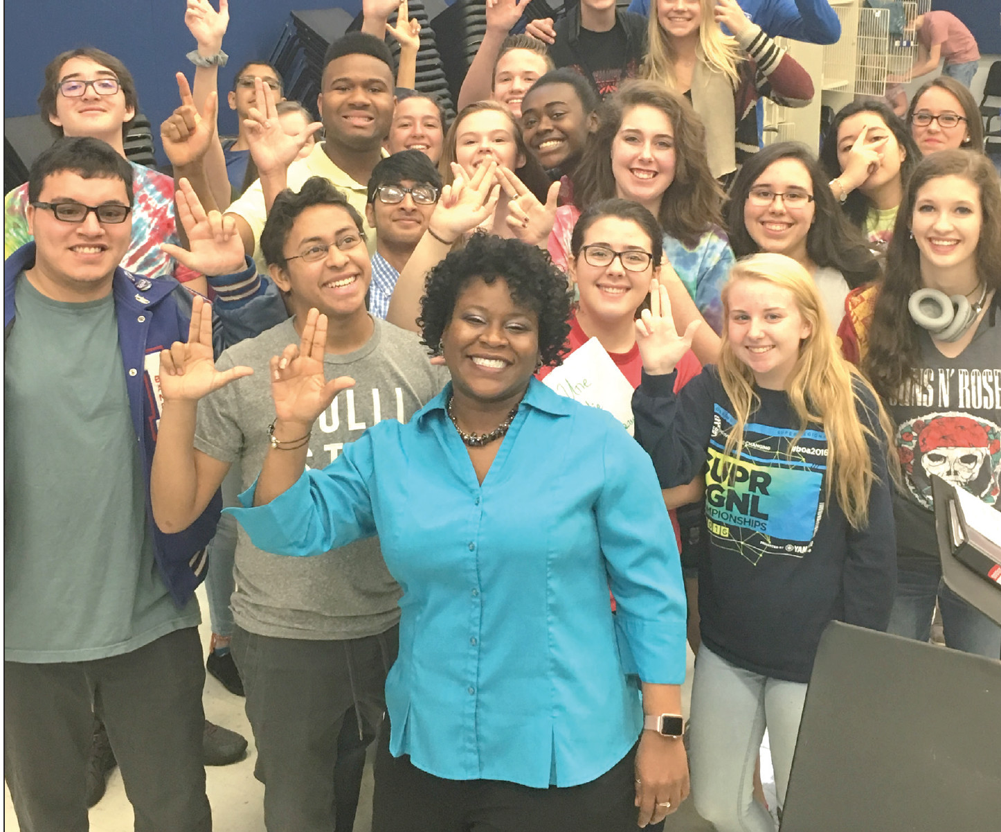 Leander High School Principal Tiffany Spicer will step into her role as the new Executive Director of College and Career Pathways this summer.