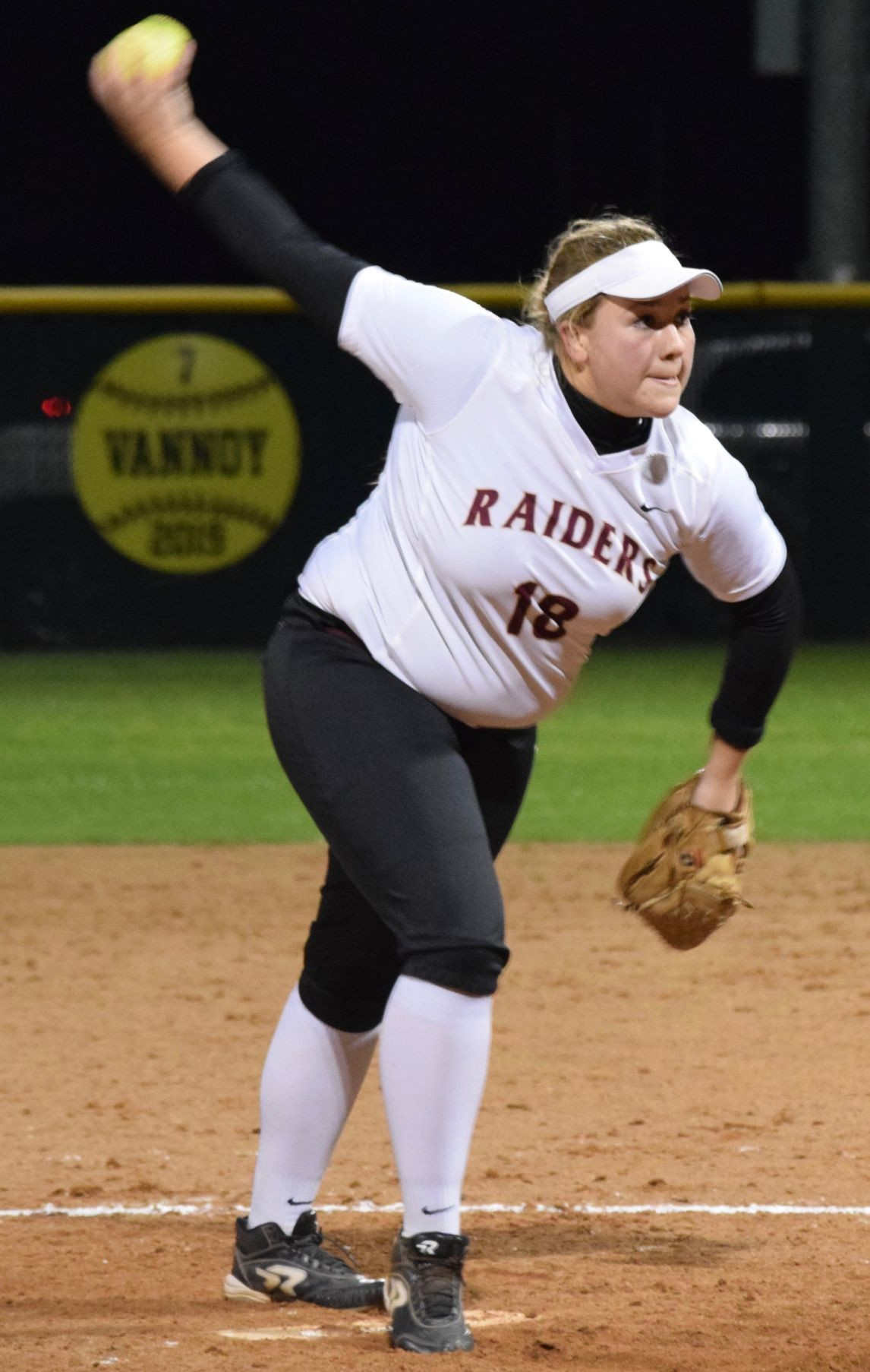 Lexi Shafer is 5-1 with a 3.08 ERA and 31 strikeouts in 38.2 innings for Rouse this season
