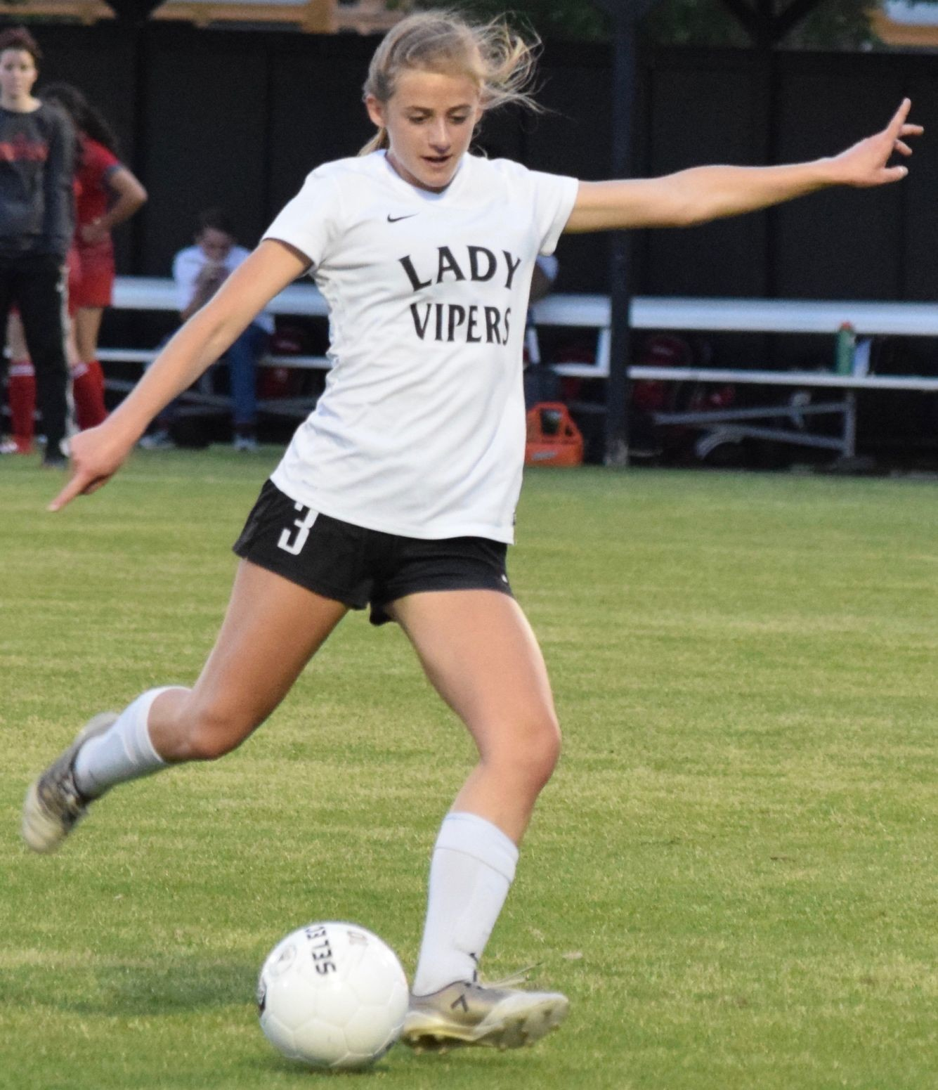 Grace Andres and Vandegrift will face off with Schertz Clemens at Rattler Stadium in San Marcos in the second round of the playoffs Thursday at 7 p.m.