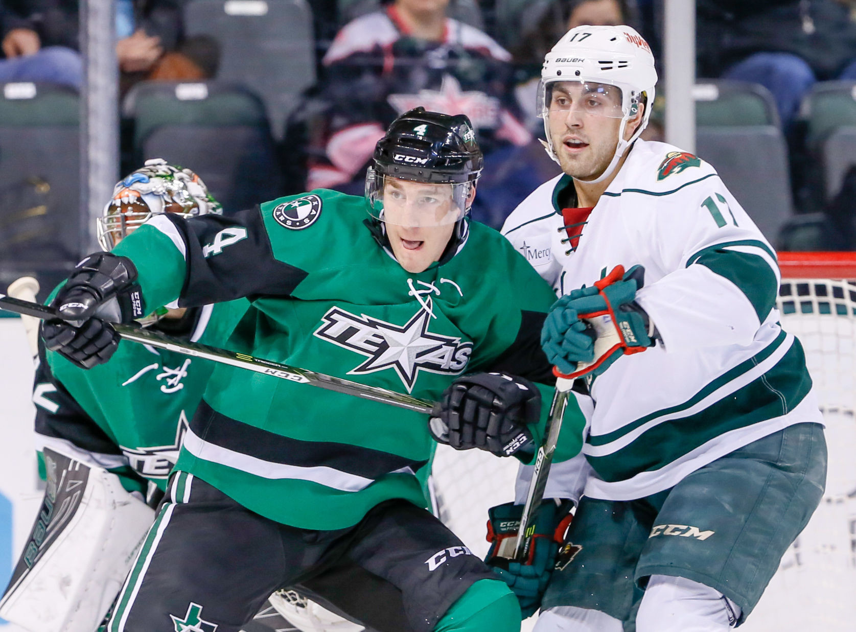 Defenseman Darren Dietz was reassigned to Texas from the Hershey Bears ahead of last weekend's two-game series against the Iowa Wild. He has two shots in his first three game with the Stars.