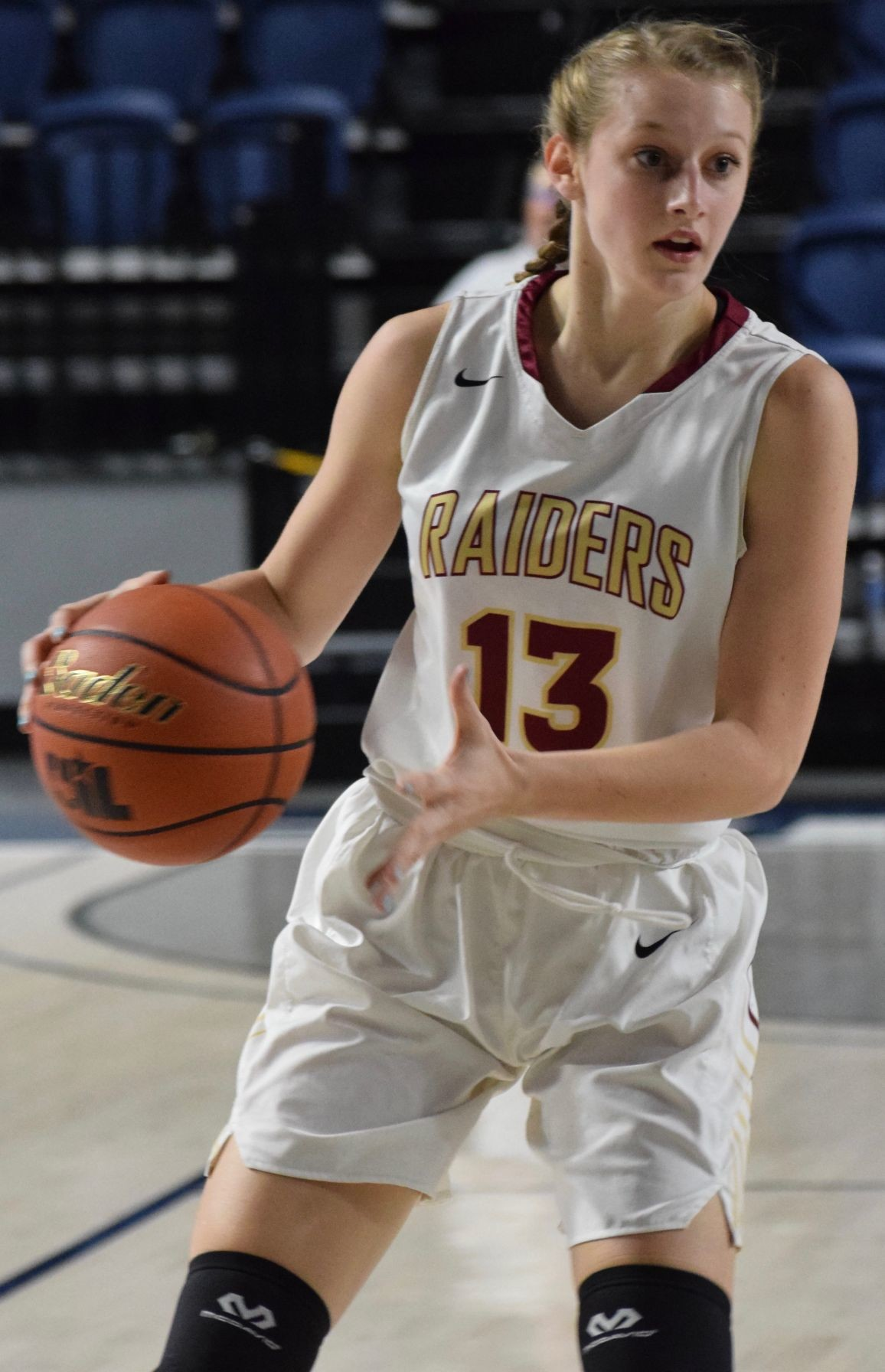 Zoe Holmes led Rouse with 10 points and six rebounds and the Lady Raiders lost to No. 4 Barbers Hill 56-36 in the regional semifinals at the Delmar Fieldhouse in Houston on Friday.