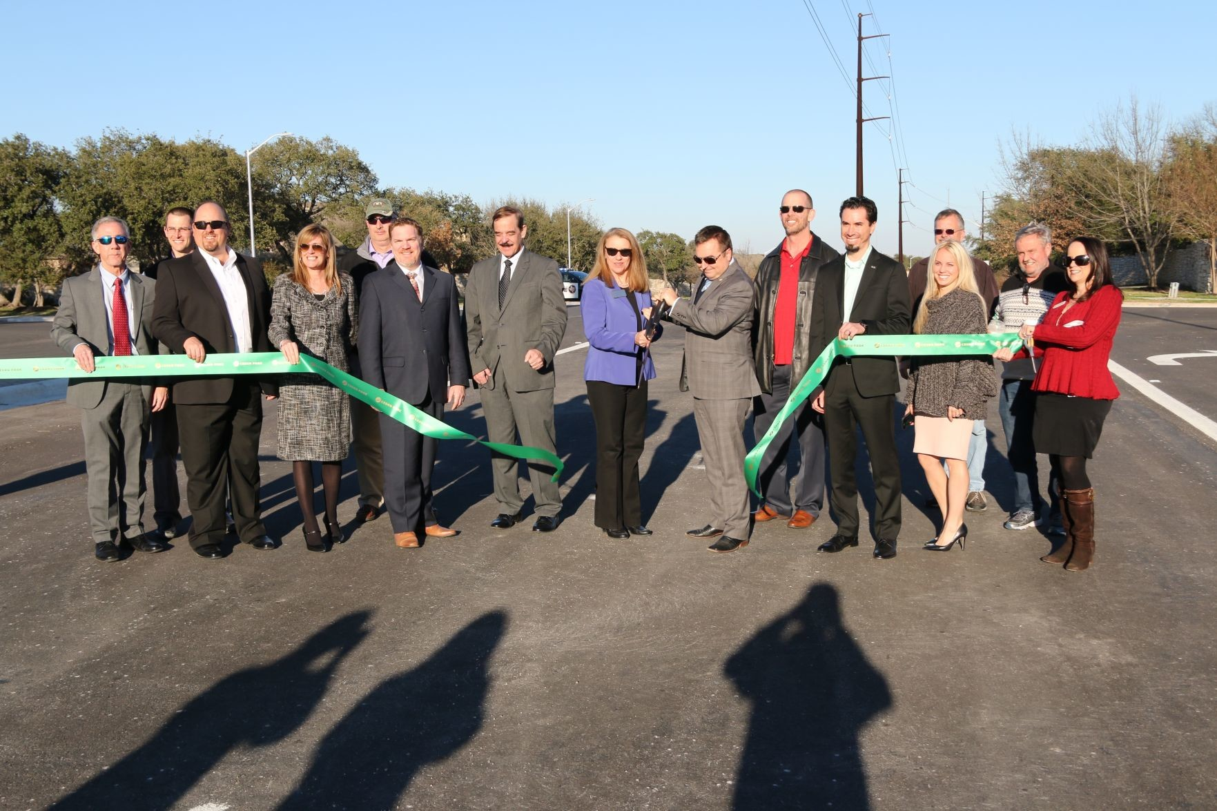 A ribbon cutting was held for the extension's completion on Jan. 26.
