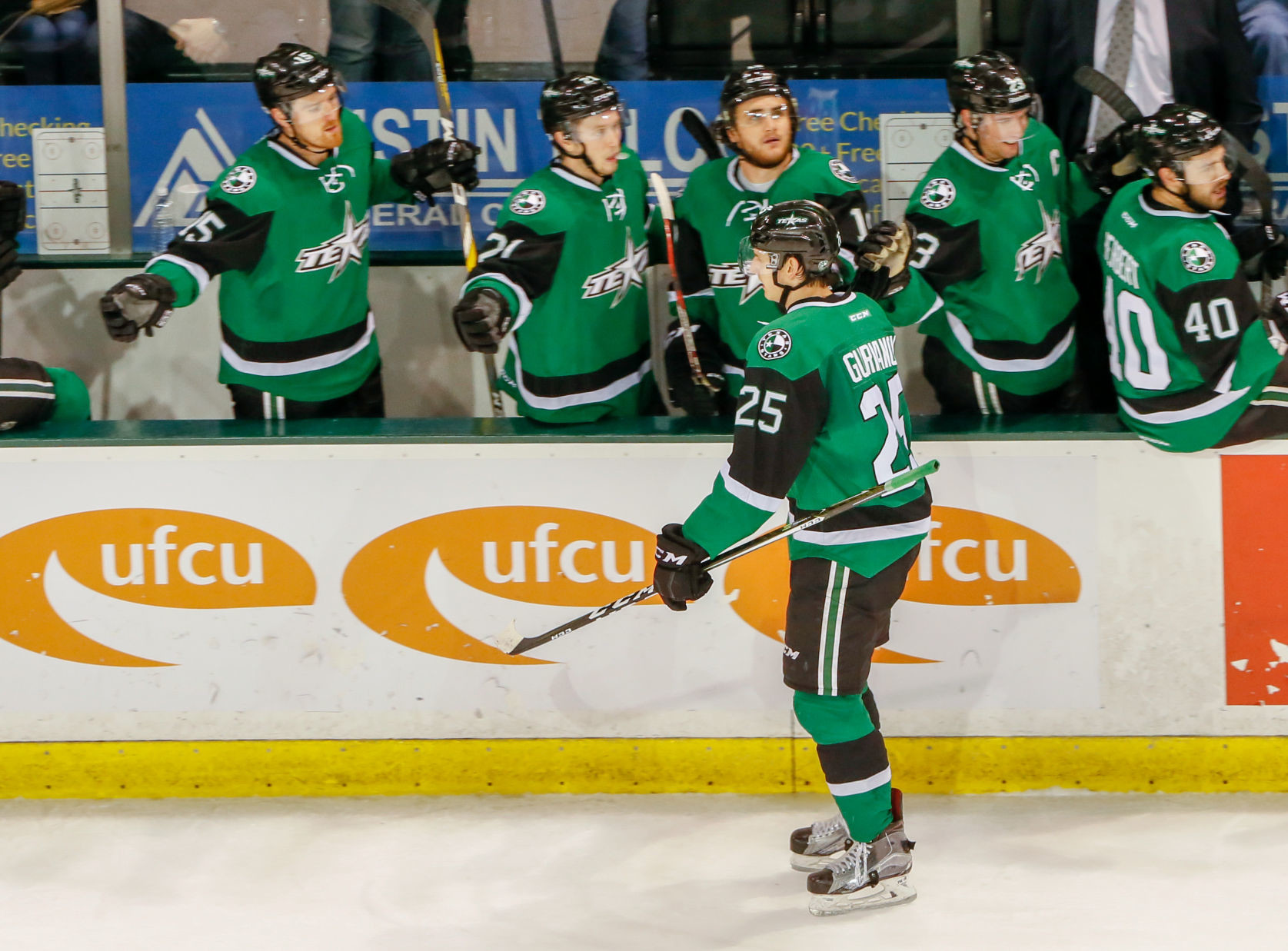 Denis Gurianov scored his second straight game-winning goal and the Texas Stars beat the Manitoba Moose 4-3 on Wednesday night.