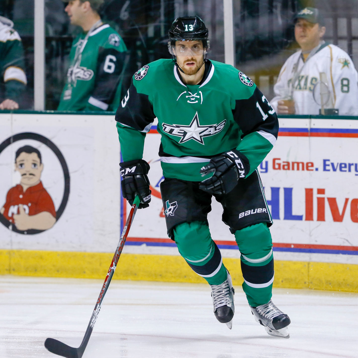 Patrik Nemeth scored a goal and had an assist in his return to the Texas Stars in Friday night's win against the Cleveland Monsters.