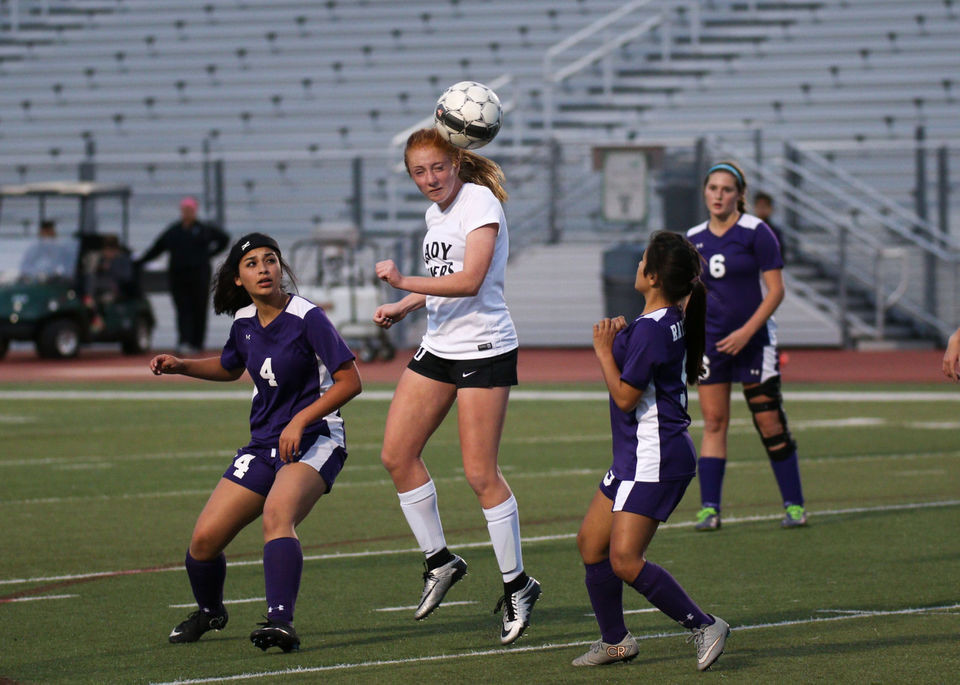 Senior Grace Erdman leads the Lady Vipers with two goals this season.