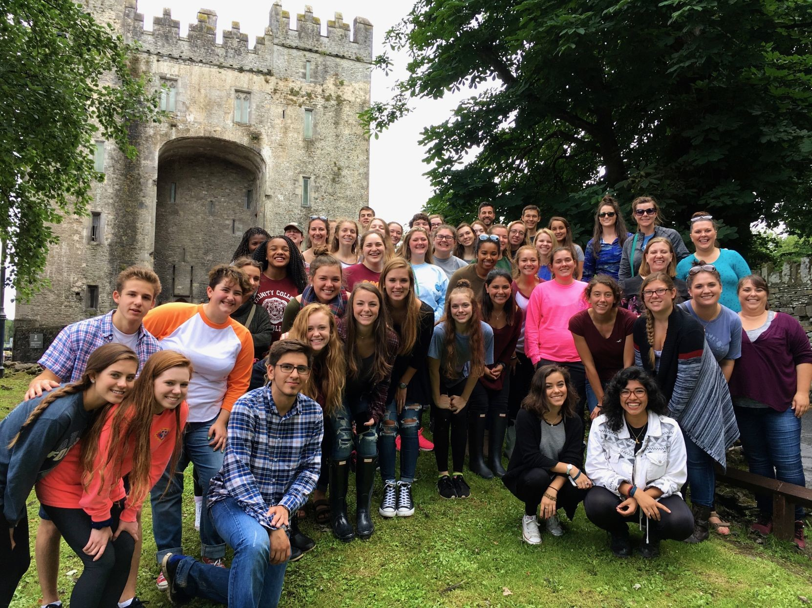 In July 2016, local students toured Ireland on an educationally-motivated trip.