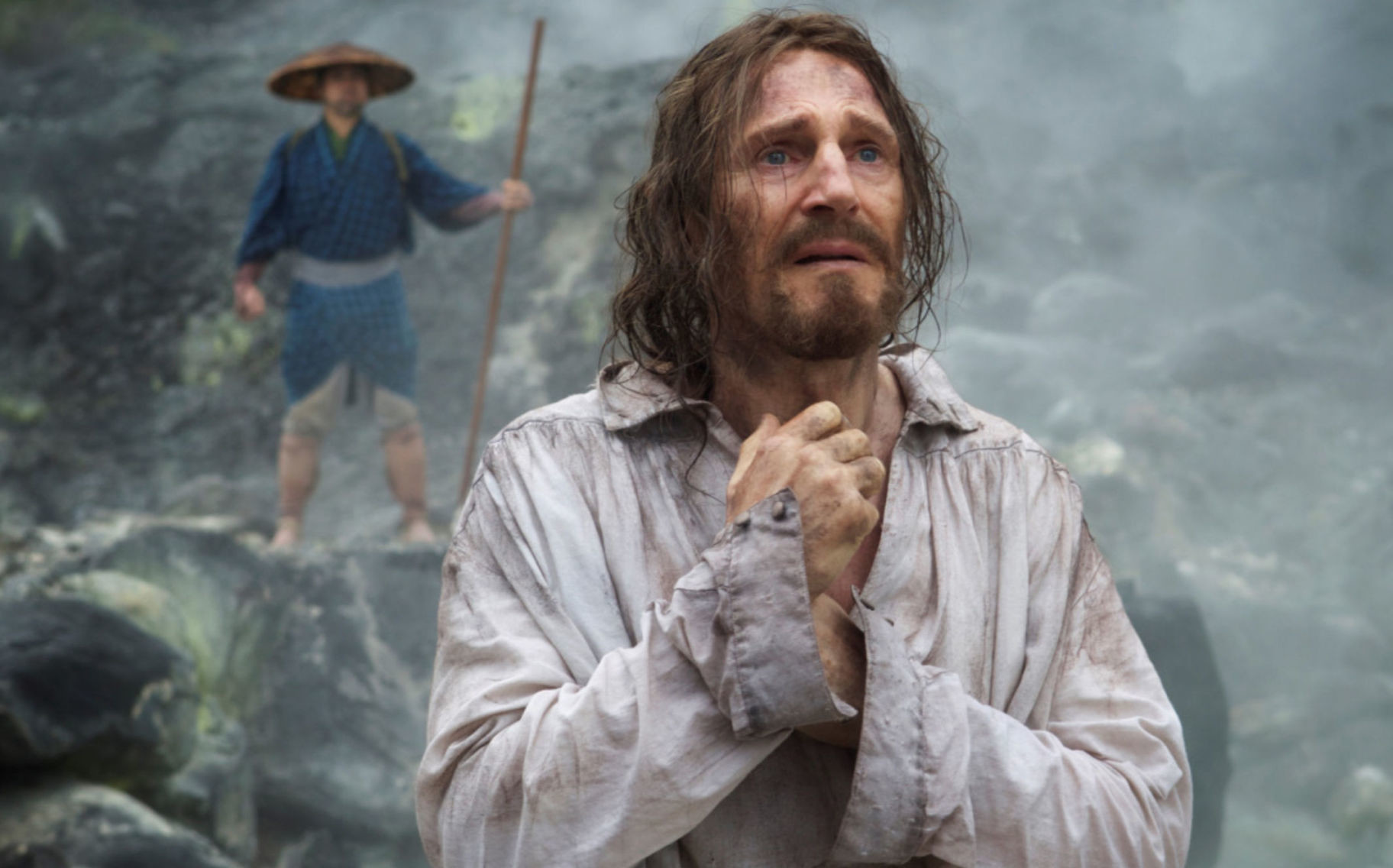 "Martin Scorsese's latest movie, ""Silence,"" tells the story of two priests who travel to Japan during a time when Christianity was treated with violence and suffering."