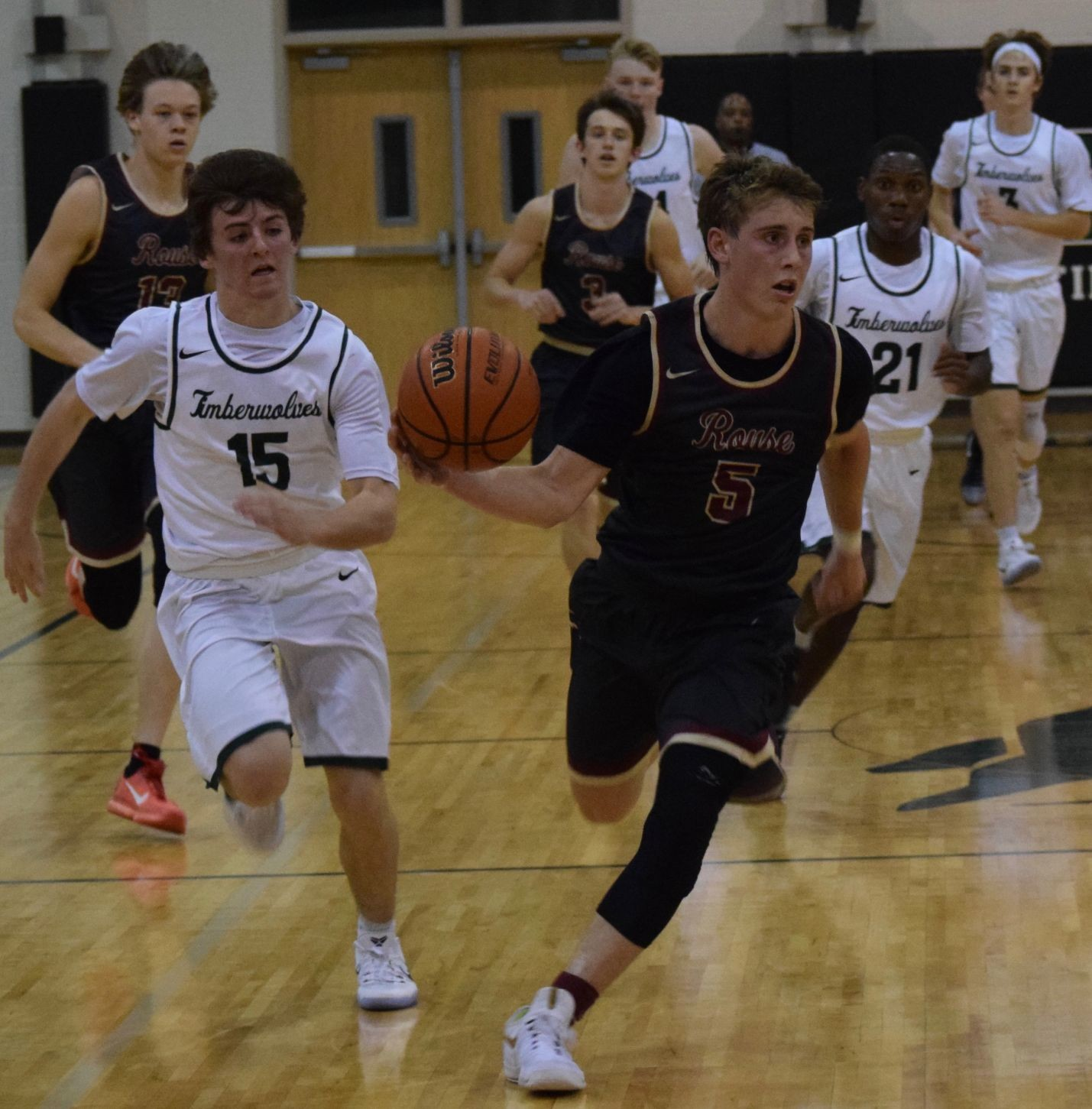 Kyle Mitchell scored a game-high 26 points for Rouse, which beat Cedar Park 63-52 for its eighth straight win Tuesday night.