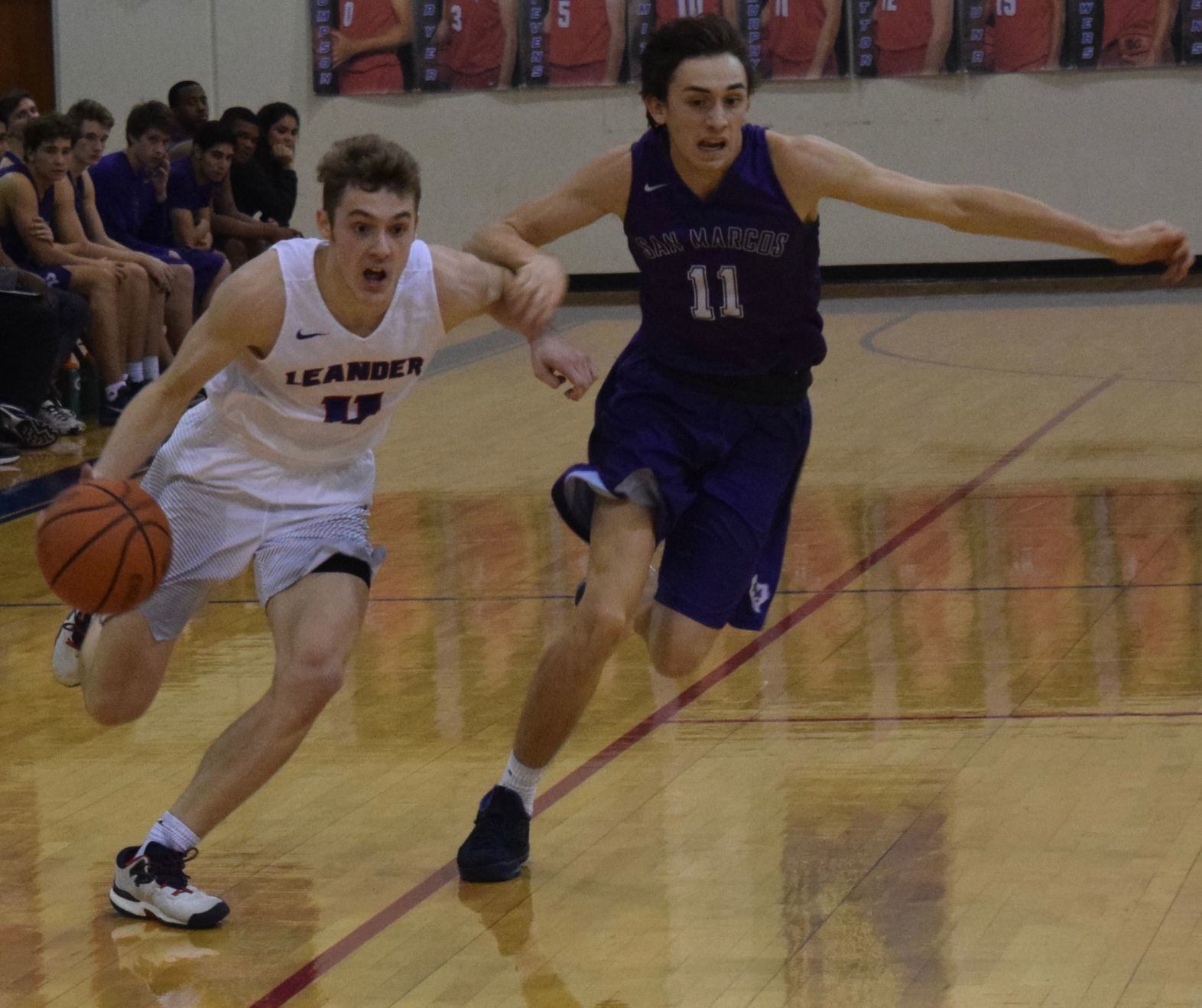 Kobe Thompson and teammates hope to lead Leander to the playoffs for the first time since 2014. The Lions finished in fourth place in the Leander Lion Classic last weekend.