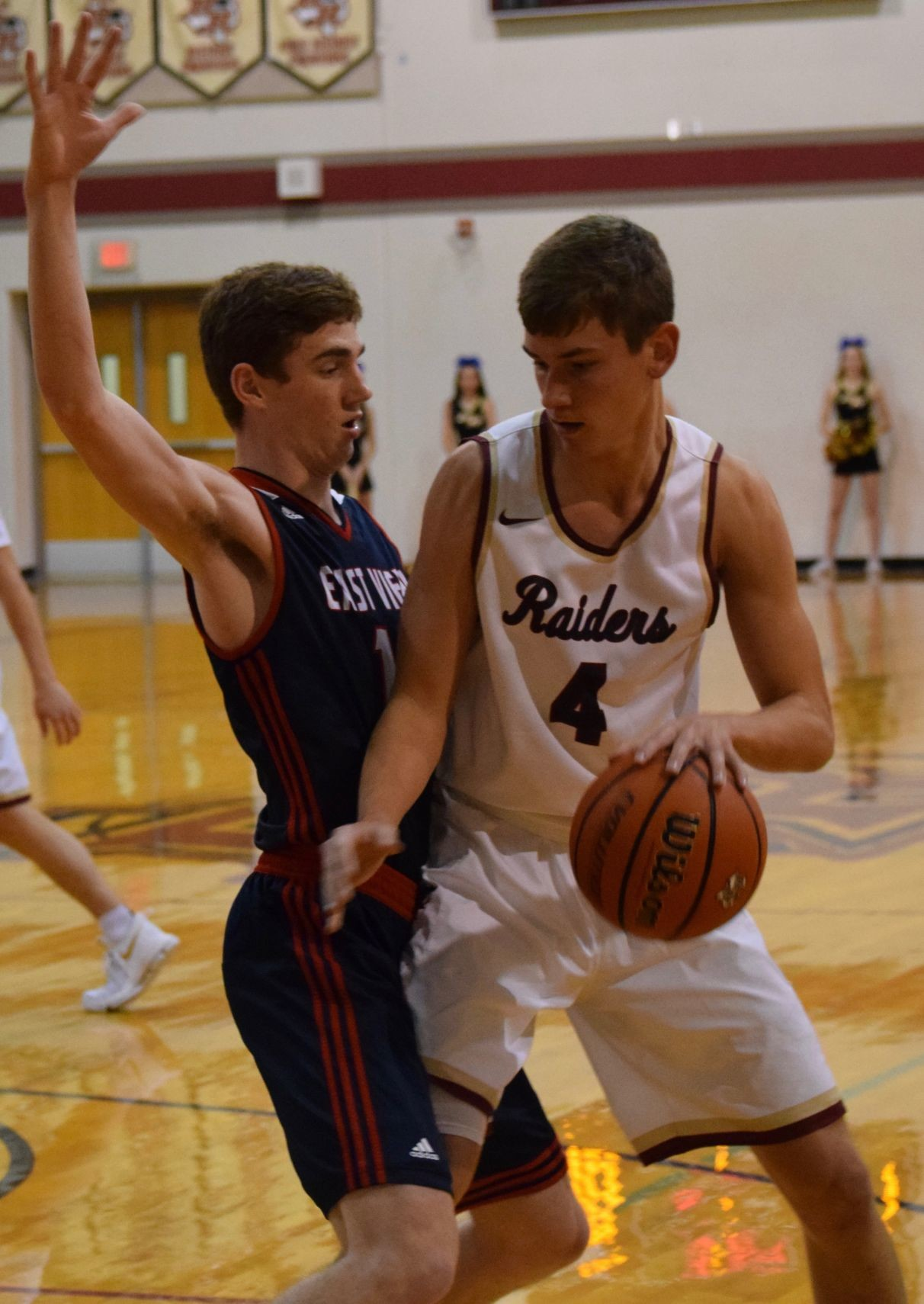 Michael Forster led the Raiders with 20 points and nine rebounds and Rouse beat East View 74-60 at home Tuesday night.