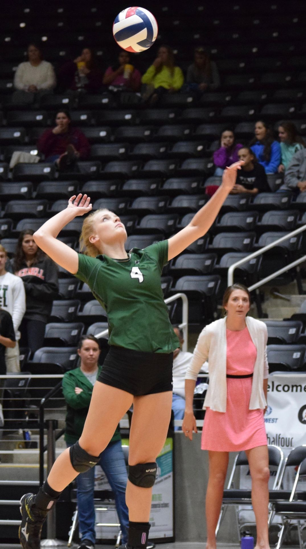 Vanessa Vozza had nine kills and 10 digs and Cedar Park fell to Amarillo 3-1 (13-25, 19-25, 25-14, 25-18) Saturday afternoon in the state finals at the Curtis Culwell Center in Garland.