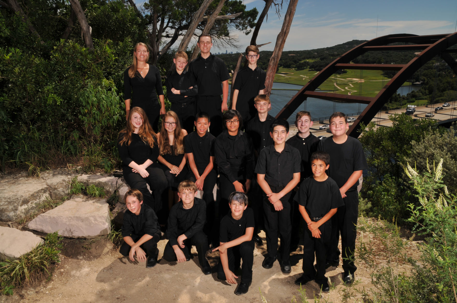 Wiley Middle School's percussion band won the International Percussion Ensemble Contest.