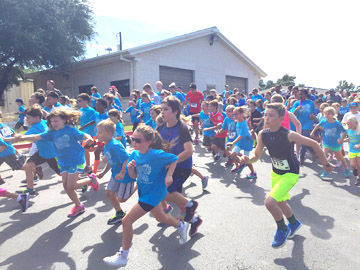Hill Country Christian School's annual 5K was a success.