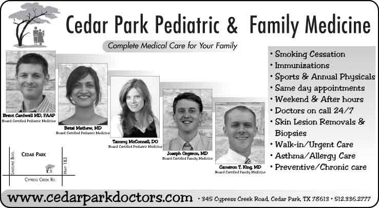 Cedar Park Pediatrics | Hill Country News