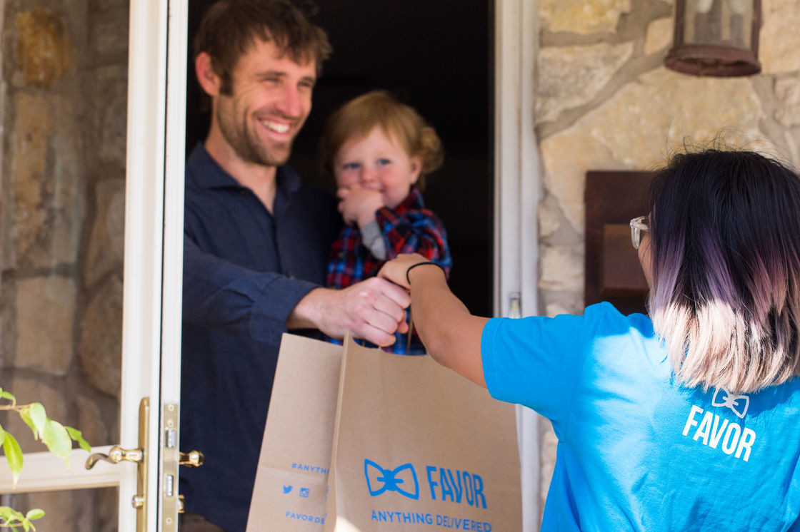 Favor, the on-demand delivery app, is now available in the greater Austin area in Cedar Park, Round Rock, Pflugerville and more.