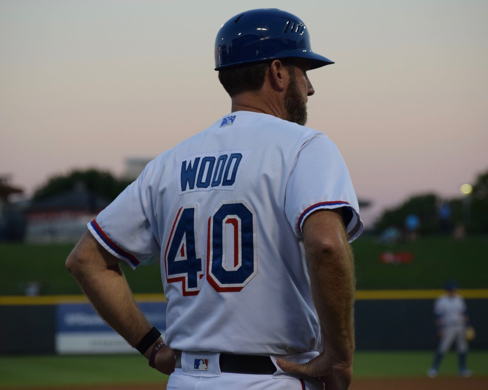 Express manager Jason Wood isn't opposed to using advanced statistics to help manage his team. But the MLB veteran is more used to the normal numbers to evaluate players.