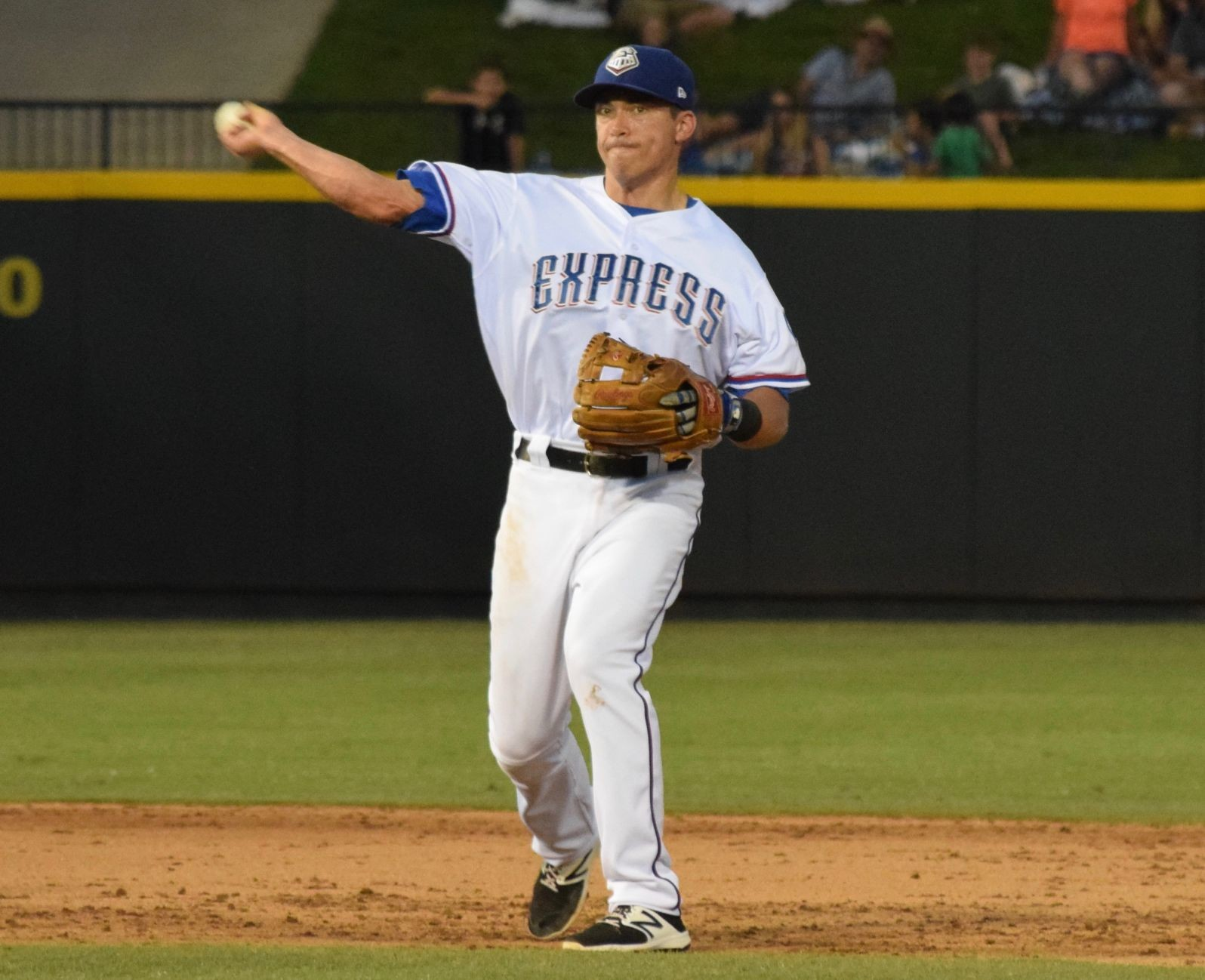 Doug Bernier made just his 10th appearance since May 1 and the Round Rock Express beat the New Orleans Baby Cakes 3-2 Thursday night.