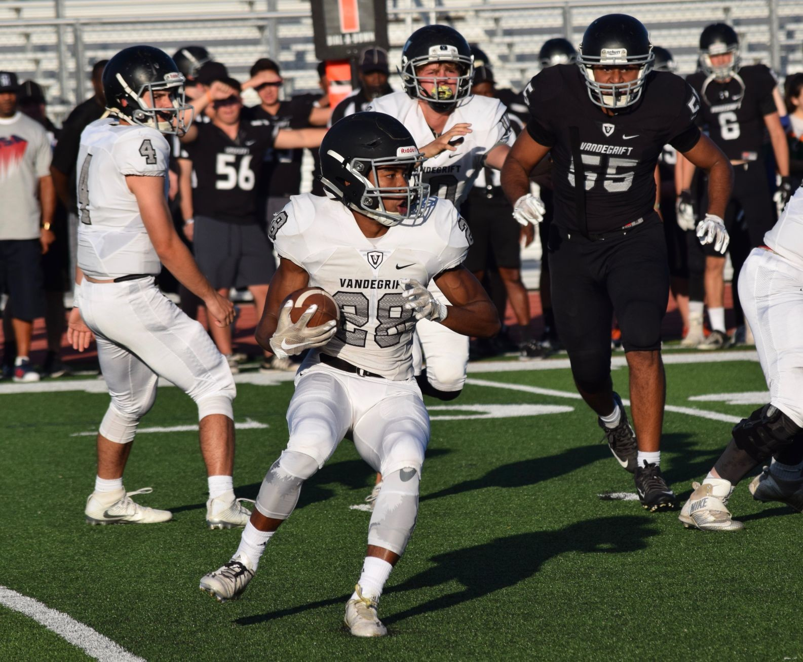 Mack Parker was the Vipers' second leading rusher last season with 571 yards and five touchdowns. Vandegrift will look to avenge its 21-20 loss to Odessa Permian last season when it opens this year on the road against the Panthers.