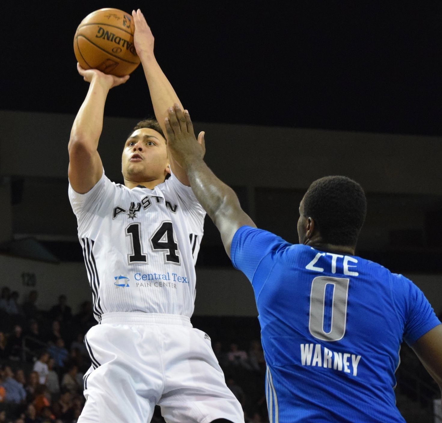 Bryn Forbes set a Summer League record with his 31-point performance in San Antonio's 101-95 win against the Philadelphia 76ers on Sunday. He led Austin averaging 23.4 points per game last season.