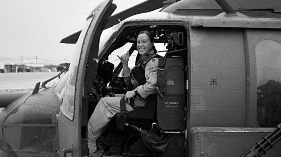 Mary Jennings Hegar, an Afghanistan veteran and women's equality champion, is considering running for Congress in the 31st District, according to local Democrat leaders.