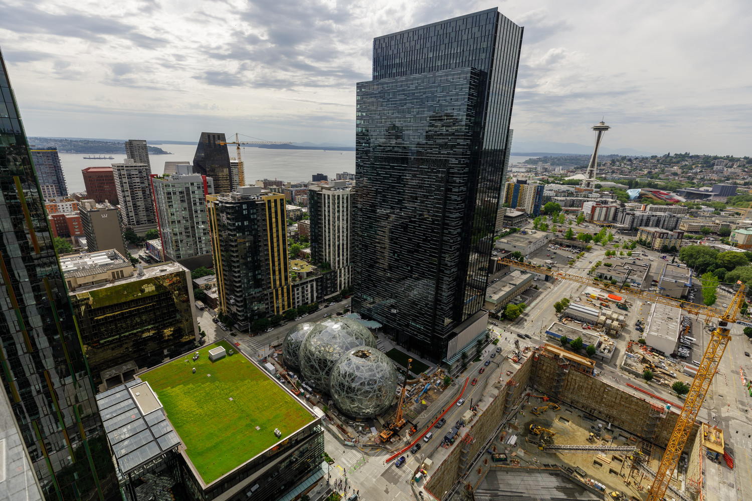 Amazon's headquarter campus, pictured here in downtown Seattle, Wash. The online retail giant may be considering building their second headquarters in Leander or Cedar Park.