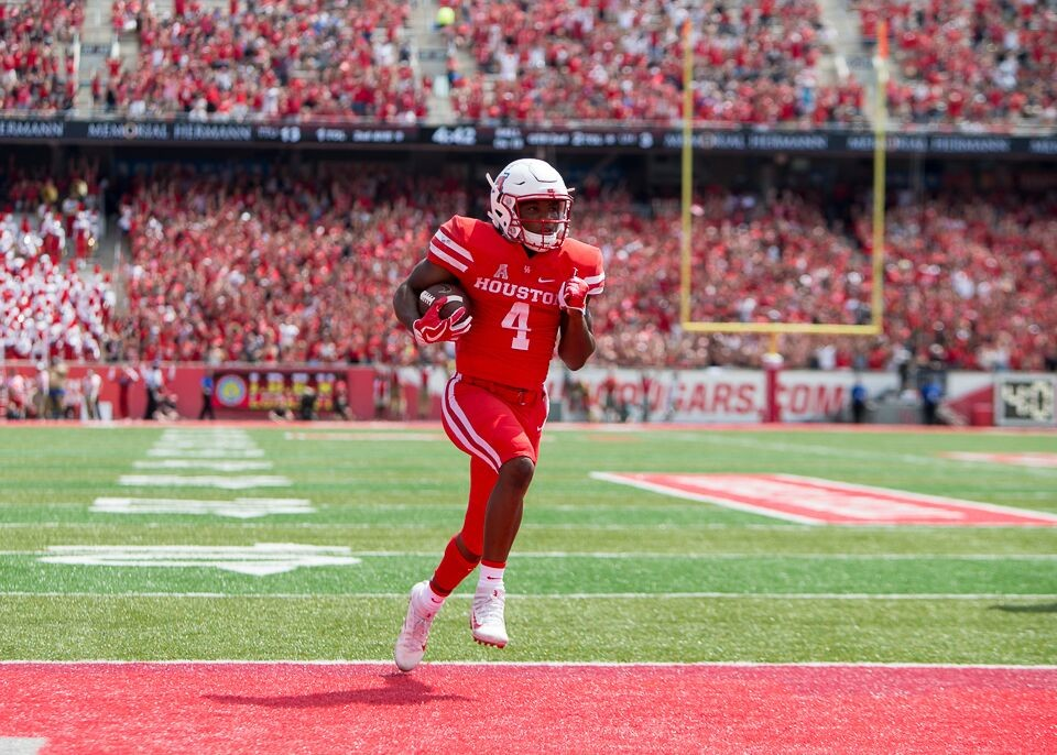 D'Eriq King moved from quarterback to wide receiver at the start of the season. He's now back at quarterback in hopes of sparking Major Applewhite's offense.