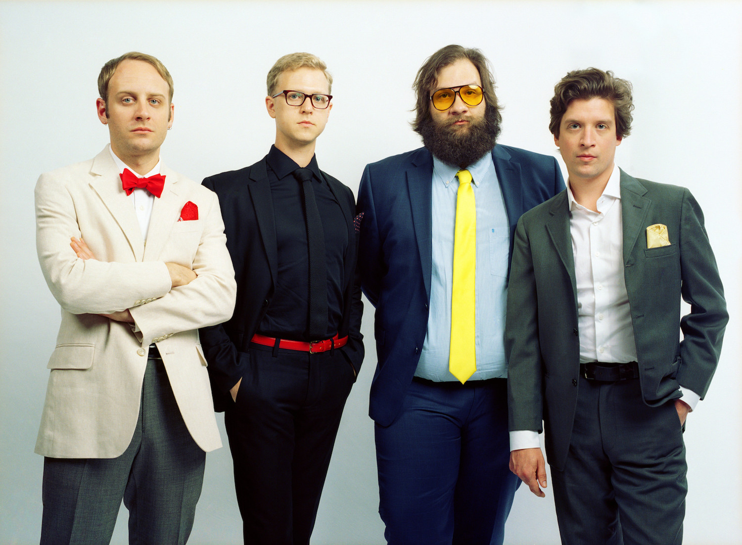 Deer Tick is (from left to right) John McCauley, Chris Ryan, Dennis Ryan and Ian O'Neil.