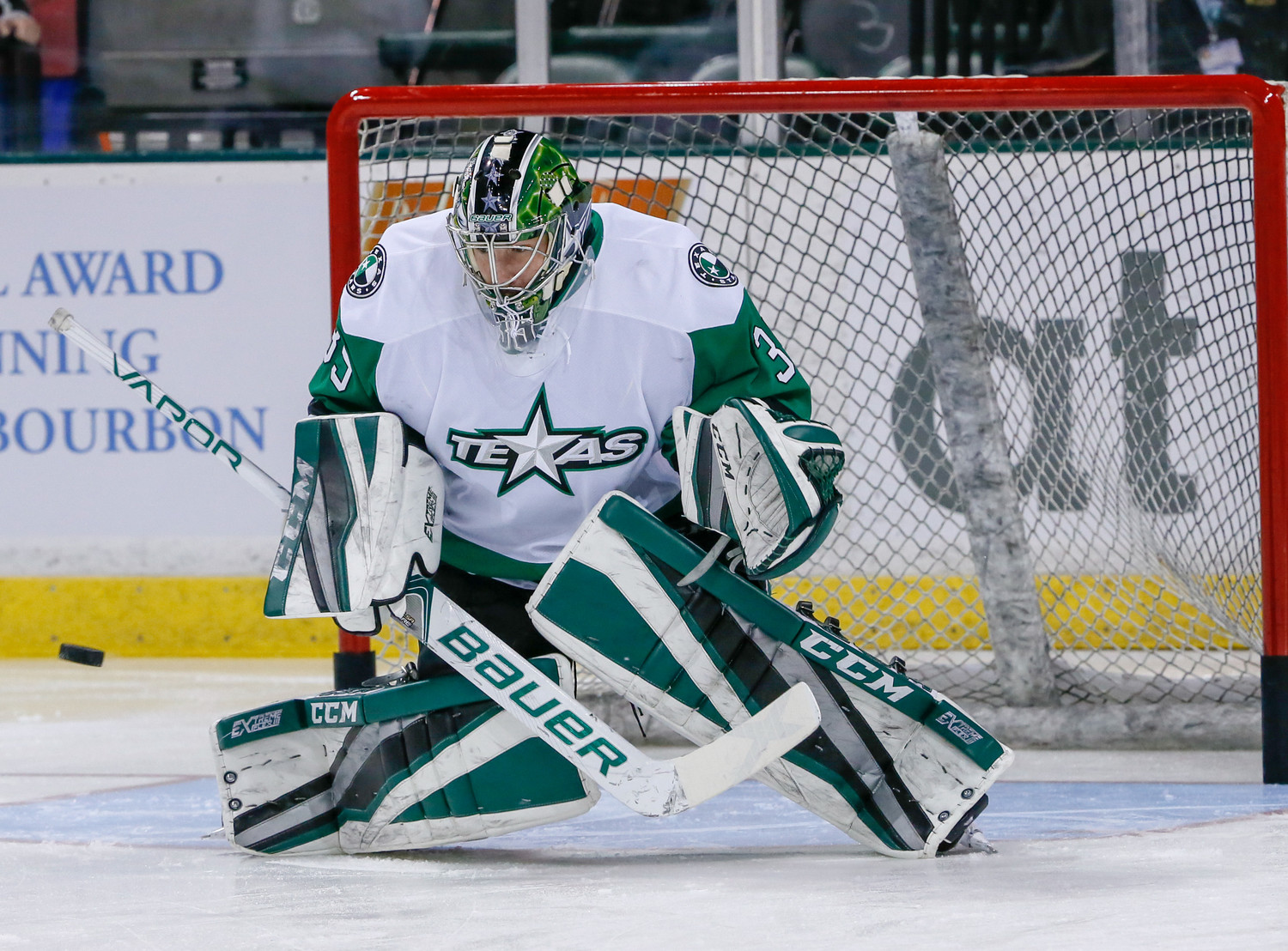 Texas Stars goalie Landon Bow leads all AHL rookies with 11 wins this season. He is 5th in the league with a 3.00 goals against average.
