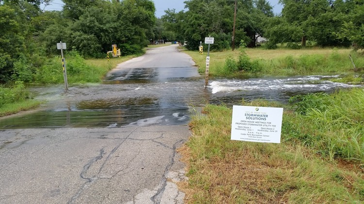 An online city survey in December found most of the 450 Cedar Park residents who completed it in favor of reallocating city sales tax revenue to pay for stormwater drainage improvements to fix flooding issues.
