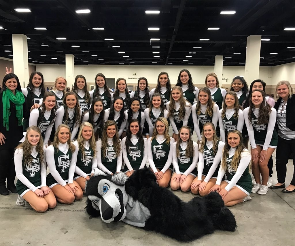 The 30 cheerleaders of the Cedar Park HS Timberwolves cheer squad came home as state champions after competing in the UIL Spirit State Championships in Ft. Worth, Saturday, Jan. 13.