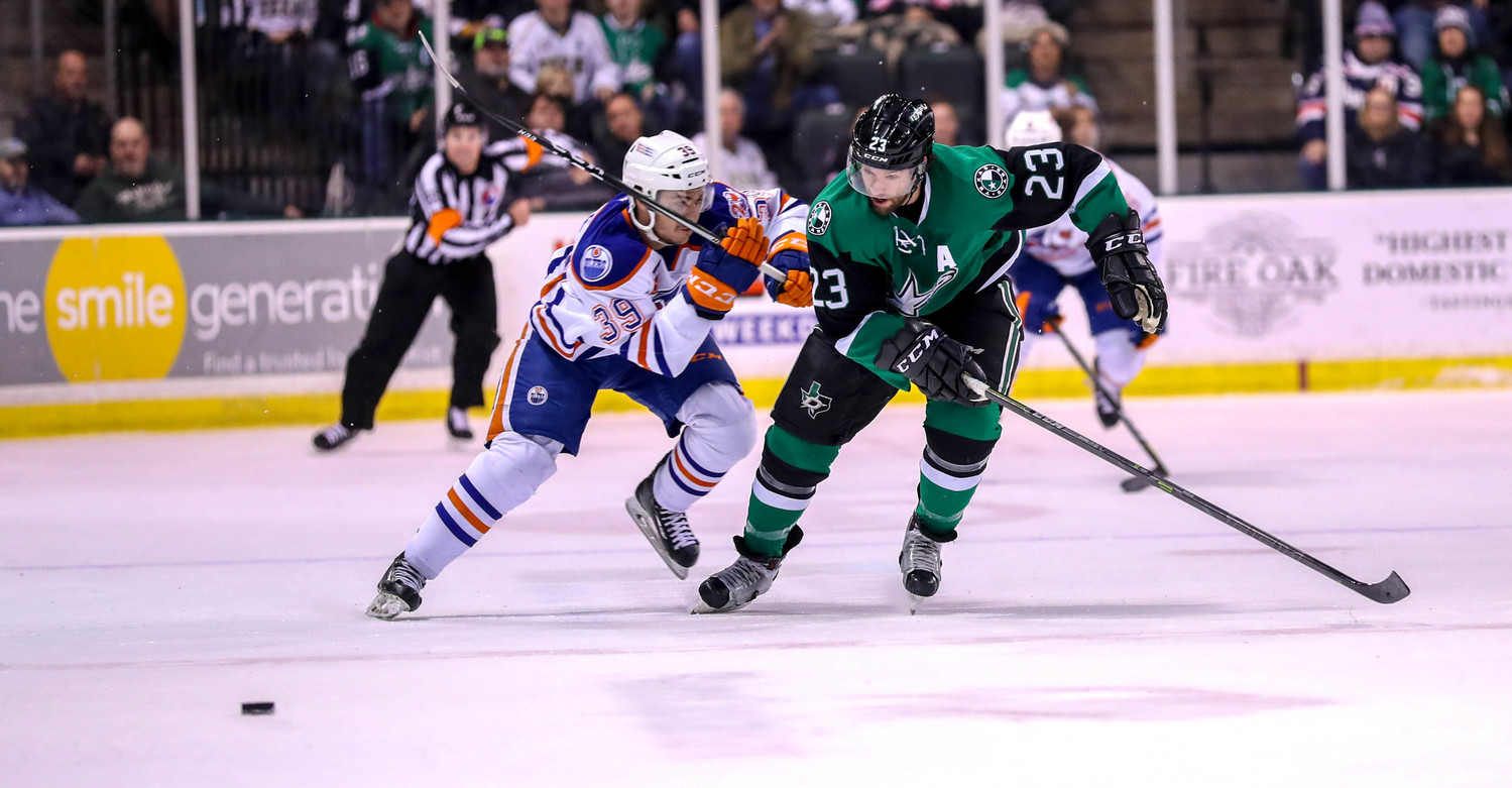 Travis Morin has two goals and two assists and the Stars have won four of a possible eight points in the first four games of a six-game road trip.